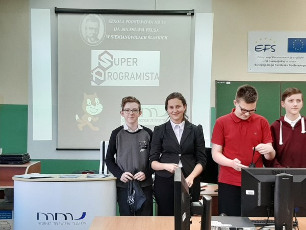 You are browsing images from the article: III miejsce w Konkursie SUPERPROGRAMISTA!